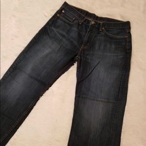 Levi's 514 straight jeans 34/30